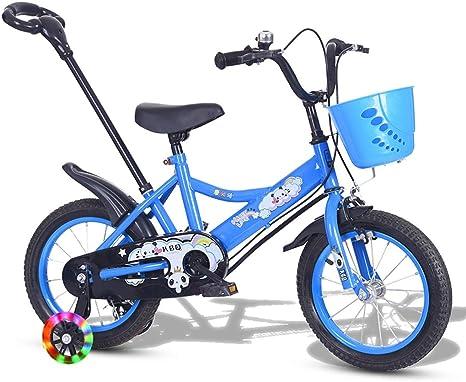 Minmin Bicicleta para niños Adecuada para bebés de 4 a 7 años de ...