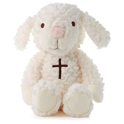 Hallmark Lullaby Lamb Interactive Stuffed Animal: Toys & Games