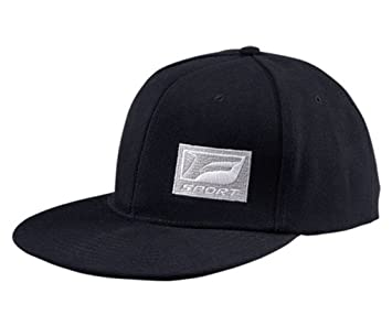 594a6b66514 Genuine Lexus F Sport F-Sport FSport Flatbill Flat Bill Black Baseball Cap  Hat  Amazon.co.uk  Sports   Outdoors