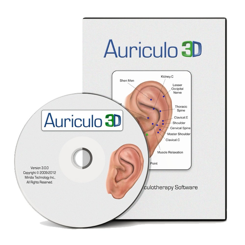 Amazon.com: Auriculo 3D Auriculotherapy Software for Ear Acupuncture - Ear  Treatments for Pain, Weight Loss, Addiciton, and over 180 Conditions