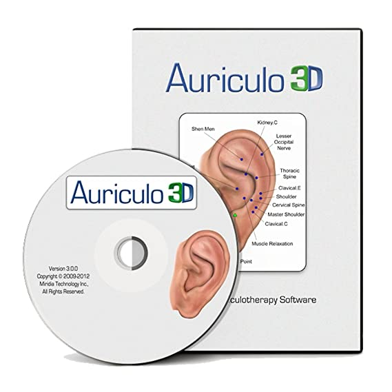 Amazon Auriculo 3d Auriculotherapy Software For Ear Acupuncture