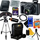 Canon PowerShot SX730 HS 20.3 MP Digital Camera with 40x Optical Zoom, Wi-Fi, NFC, Bluetooth & HD 1080p Video (Black) International Version + 12pc 64GB Deluxe Accessory Kit w/HeroFiber Cloth