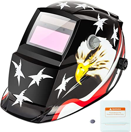 Welding Mask Flip Up Lens Welders Helmet Adjustable Suitable For MIG TIG Arc