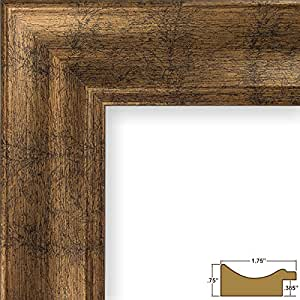 Craig Frames 22605844 7 by 10-Inch Picture Frame, Smooth Wrap Finish, 1.75-Inch Wide, Copper and Black
