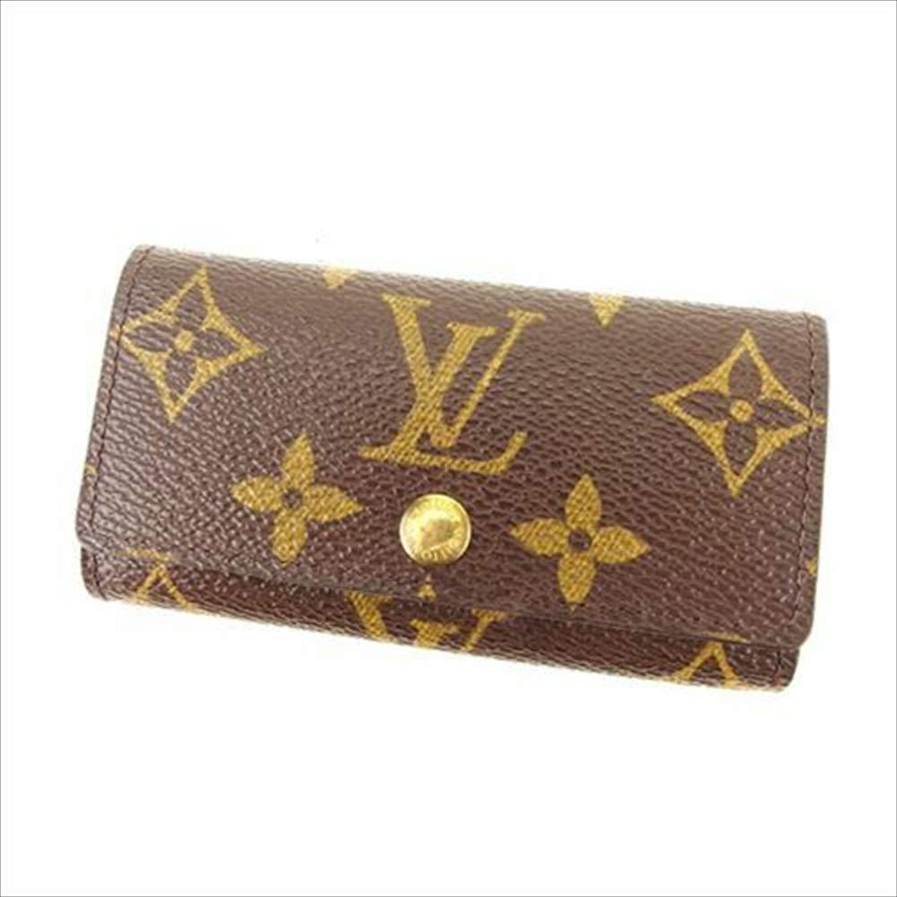 ルイヴィトン Louis Vuitton キーケース 4連キーケース メンズ可 ミュルティクレ4 M62631 モノグラム 中古 セール 良品 T14157   B07R79NY1R