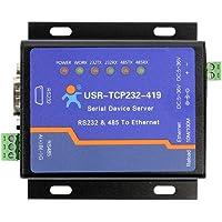 USR USR-TCP232-419 Serveur de périphériques série RS232 Prise en Charge du convertisseur Ethernet vers Le convertisseur de contrôle DTR/DSR