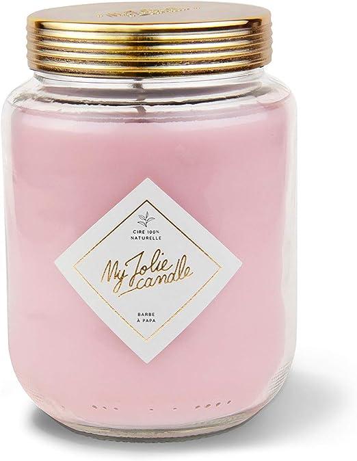 My Jolie Candle • Vela perfumada XXL • Perfume Algodón de Azúcar ...