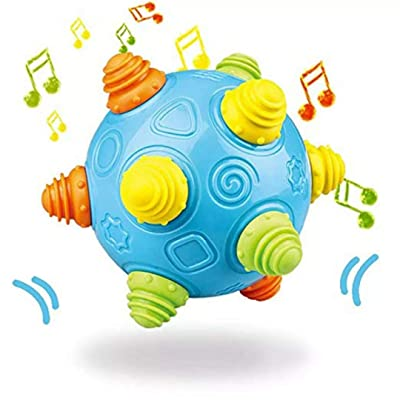 Baby Music Shake Dancing Ball Toy, KOBWA Bouncing Sensory Developmental Ball for Boys and Girls-Baby Kids Interactive Electronic Toy with Personality and Emotions, Gifts for Kids Fun : Baby