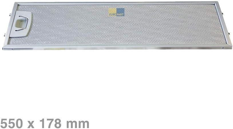 MMSB 481945868293 - Filtro de Grasa metálico para Campana extractora (481945868293): Amazon.es: Hogar