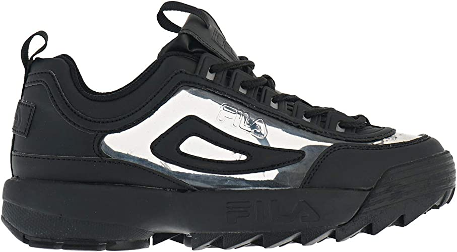 Amazon.com: Fila Disruptor II Zapatillas negras ...