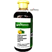 Sparkenzy Neem Oil for Plant 200ml for Pest Control | Organic Cold Pressed (200ml)
