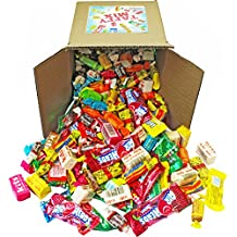 Assorted Candy Taffy Party Mix - Bulk Candy - Approx. 4 LB Bulk Box: Laffy Taffy, Kits, Airheads, Tootsie Rolls, Salt Water Taffy and Much More of Your Favorite Taffies!