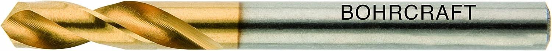 1 St/ück 5,7 mm in BC-QuadroPack 12660300570 Bohrcraft Spiralbohrer DIN 1897 HSS-E Typ N TiN Profi Plus