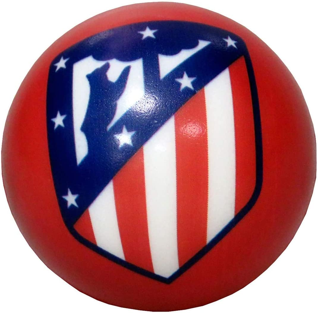 Atletico de Madrid Pelota antiestrés 63mm (BA-20-ATL), Multicolor ...