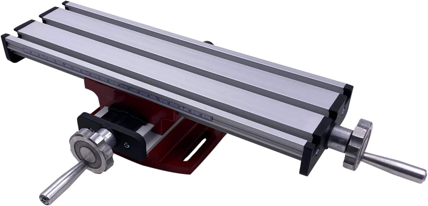 PAULIMOT Kreuztisch aus Aluminium 310 x 90 mm