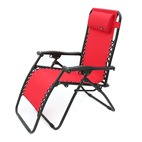 Stupendous Amazon Com Ms Lounge Chair Red Brown Black Fold Recliners Inzonedesignstudio Interior Chair Design Inzonedesignstudiocom