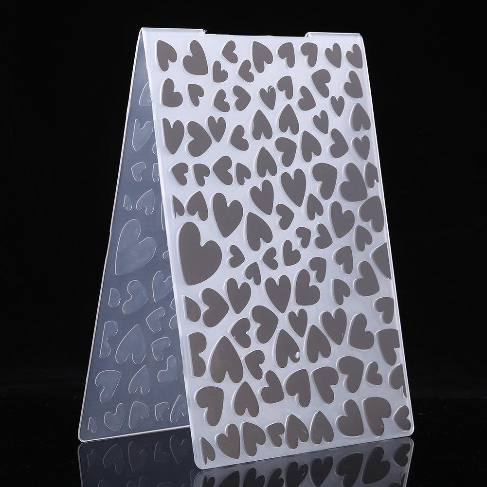 #2 1 Pcs Embossing Folder Plastic Template DIY Tool Gift For Scrapbook Photo Album Card for DIY Craft Scrapbooking Photo Album Card Decoration Style