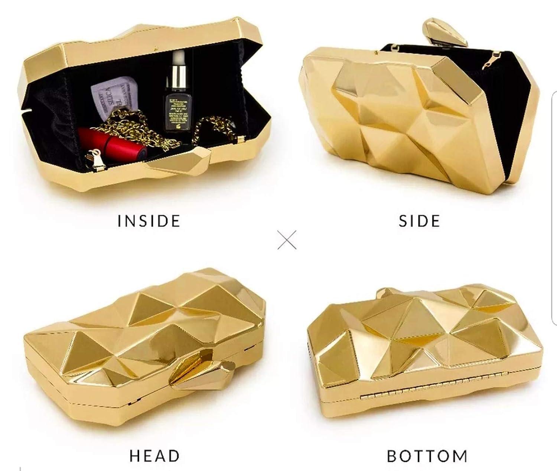 Beautiful Metallic Acrylic Box