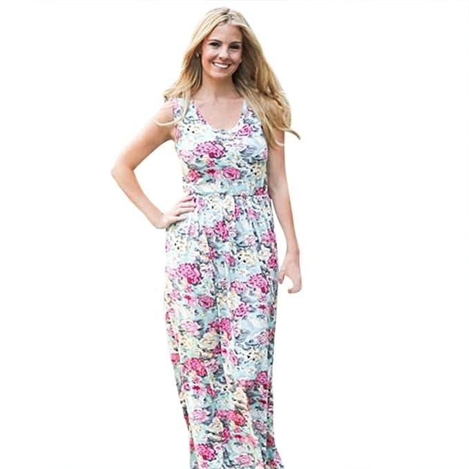 4aabfc52ce Amazon.com  TiTCool Mother Girls Matching Dress