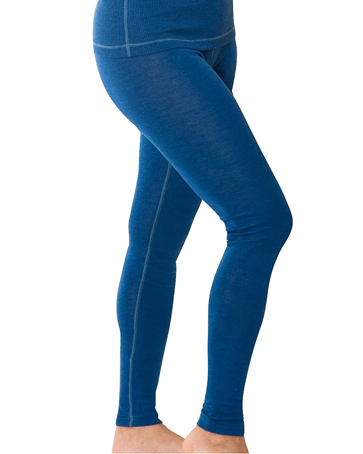 Damen Leggings Sport, Wolle Seide, Gr. 34/36 - 46/48