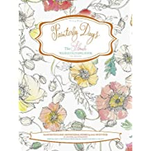 Painterly Days: The Flower Watercoloring Book for Adults