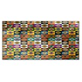 Apache Patchwork Rectangle Tablecloth: Medium