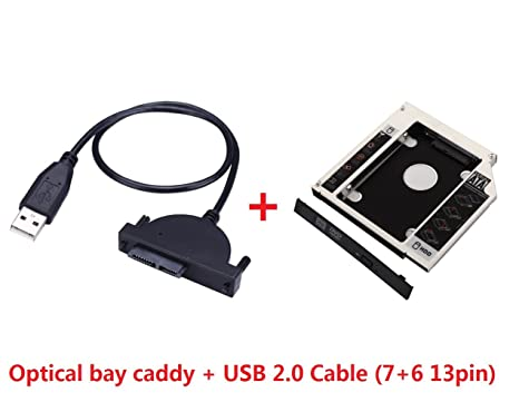 Deyoung 2 nd HDD SSD Disco Duro Caddy para iMac de 21
