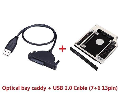 Deyoung 2 nd HDD SSD Disco Duro Caddy para iMac de 21