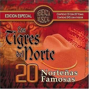 Los Tigres Del Norte - 20 Nortenas Famosas - Amazon.com Music