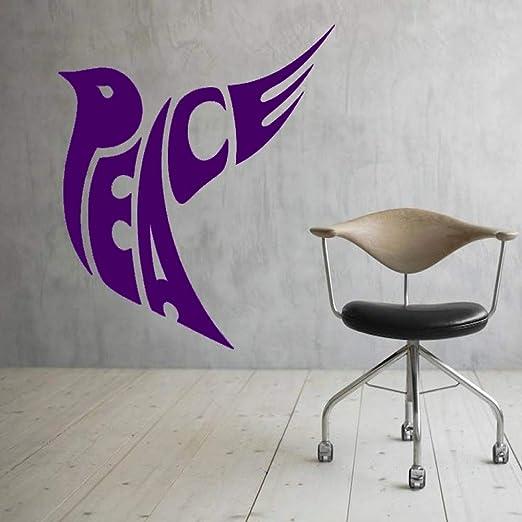 xingbuxin Pegatinas de Pared de Signo de Paz para habitación de ...