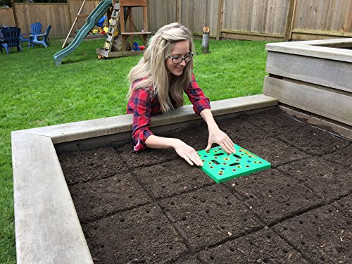 Grow perfectly spaced vegetables