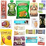Healthy Vegan Snacks Care Package: Natural, Organic, Non-GMO, Vegan Cookies, Protein Bars, Fruit Snacks, Vegan Jerky, Chips, Nuts, Premium Vegan Gift Sampler Box