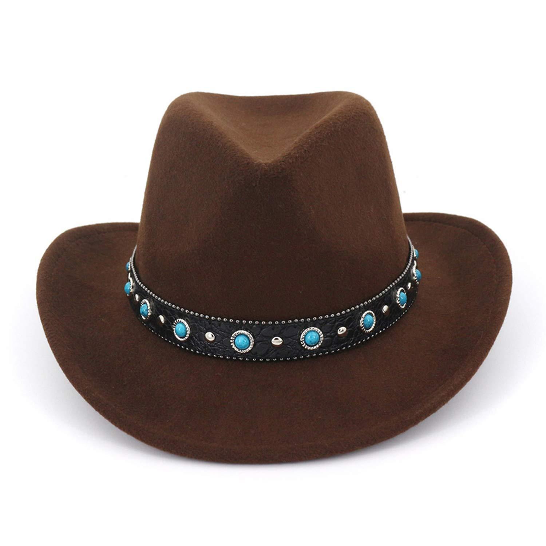 b56edda393 Amazon.com: RXIN Plain Wool Felt Jazz Fedora Hats with Leather ...