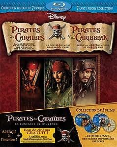 Pirates Of The Caribbean 7-Disc BD Bilingue [Blu-ray]