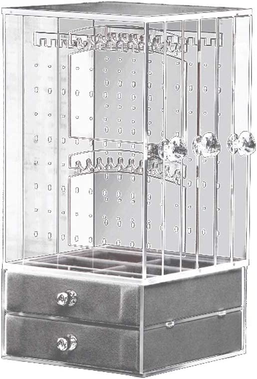 exposant pour bijoux Support /à bijoux ruban antique support de boucles doreilles anneaux organisateur de bracelets pour la conception darbres de bijoux