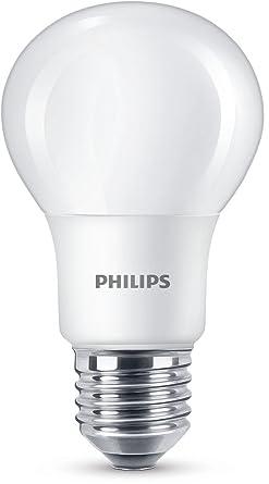 Philips Pera Bombilla LED Estándar E27 luz Blanca fría, 60 W, Pack de 1