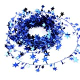 Hanging Star Pine Garland Christmas Tree Garland Decor 5 Colors Christmas Decoration Ornament