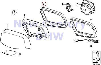 BMW Genuine Bumper Cover Support Front Left for 525i 525xi 528i 528xi 530i 530xi 535i 535xi 545i 550i