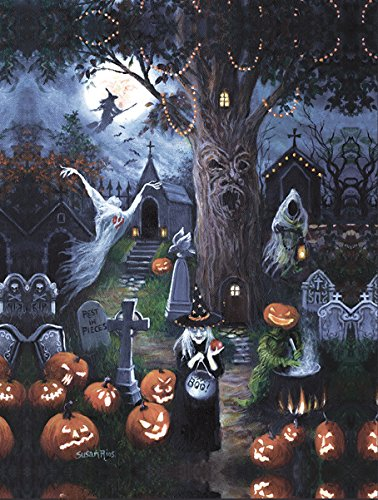SunsOut Halloween Night 300 Piece Jigsaw Puzzle