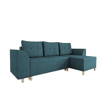 Mirjan24 Ecksofa Arimo Sofa Couch Mit Schlaffunktion Und Bettkasten