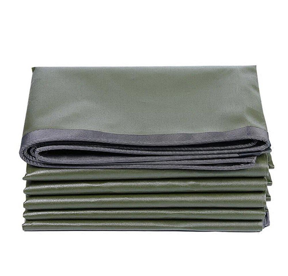 0.6ミリメートル屋外のターポリン/緑色の灰色の引き裂き抵抗性の防水シート/日よけ日焼け止め/アンチエイジング防水タペーリン600グラム/m2、 (色 : 緑, サイズ さいず : 3*3m) B07CRXJ1ZZ 3*3m|緑 緑 3*3m
