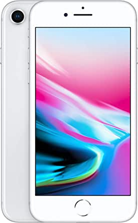 Simple Mobile Prepaid - Apple iPhone 8 (64GB) - Silver [Locked to Carrier – Simple Mobile]