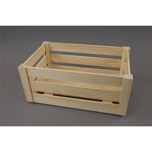 Large New Wooden Storage Box Diy Crates Toy Boxes Set: Wooden Boxes Crates: Amazon.co.uk