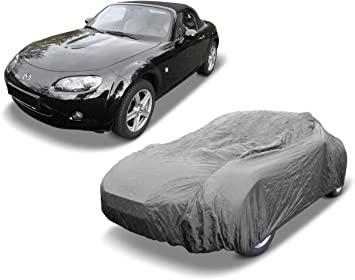 MAZDA MX5 MK2 INDOOR OUTDOOR FULLY WATERPROOF CAR COVER COTTON LINED HEAVYDUTY