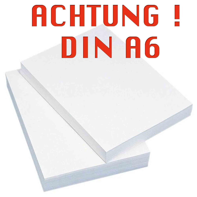 Papel de impresora 2000Bl/A6 blanco: Amazon.es: Oficina y papelería