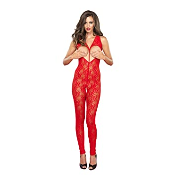 93c3aa61bad Leg Avenue 89118 - sexy sheer Open Crotch Bodystocking