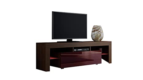 Amazon.com: Concepto muebles soporte de TV Milano 160/LED ...