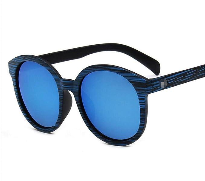Trend Sonnenbrillen Retro Holz Farbe Gläser Große Boxen Farbfilm Quecksilber Sonnenbrillen,A1