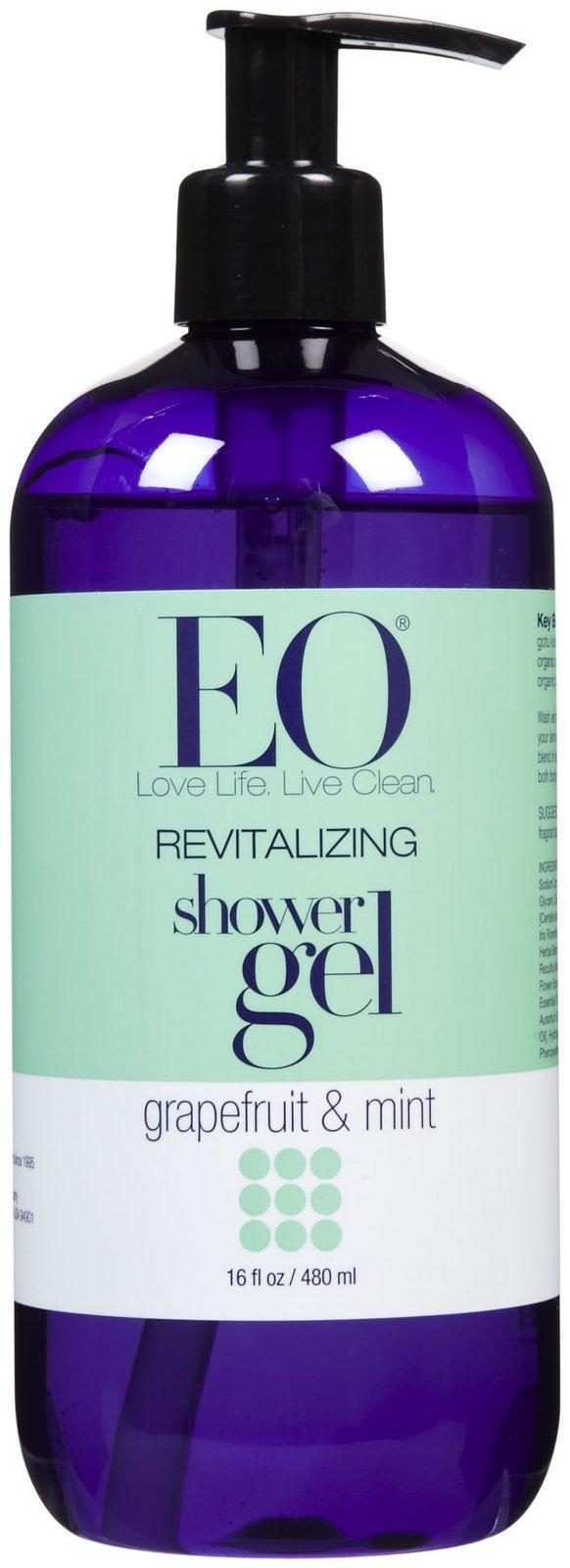 EO Products Shower Gel - Grapefruit & Mint - 16 oz