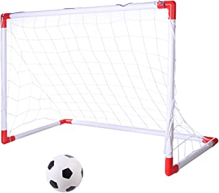 YAHAMA Cible de Football Filet de Rebond Filet But Football Filet Ballon Football - 88x44x59cm
